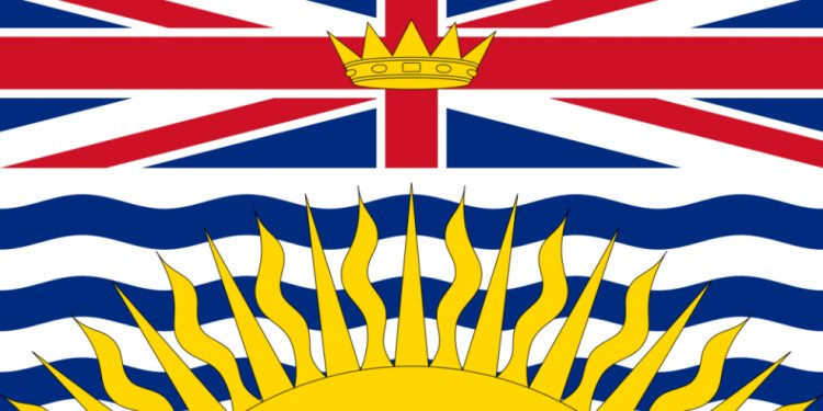 BC flag british columbia flag