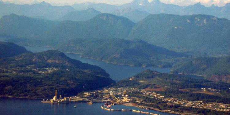 Powell River, British Columbia