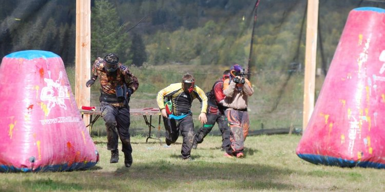 Quesnel paintball association