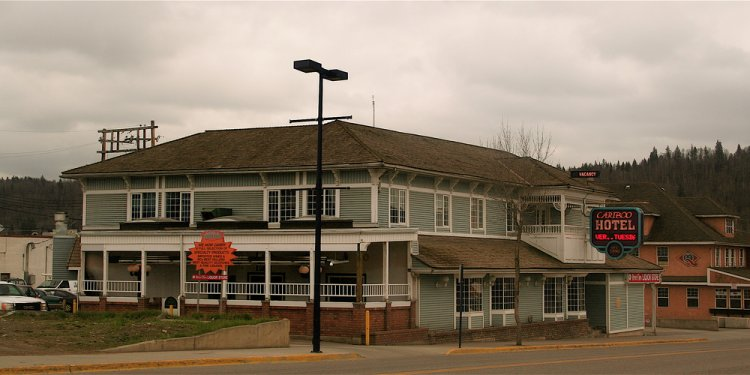 Cariboo Hotel, Quesnel BC