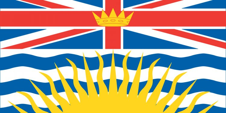 British Columbian flag
