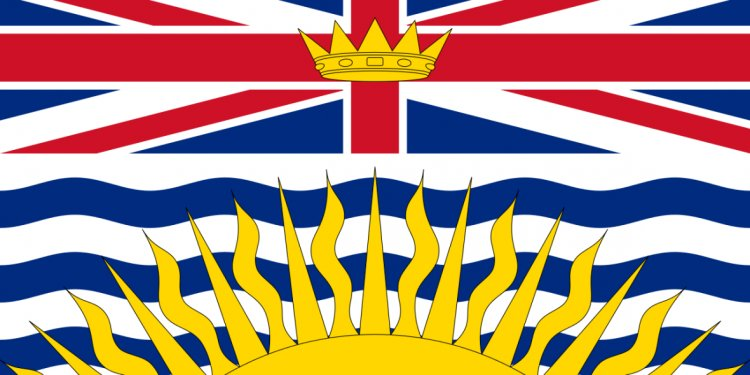 Flag British-Columbia