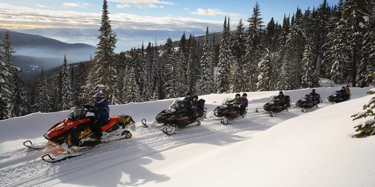 British Columbia Snowmobile